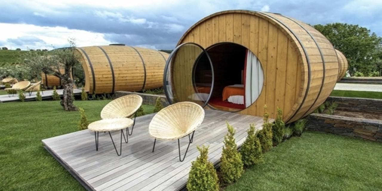 Dormir en un barril de vino en el Duero