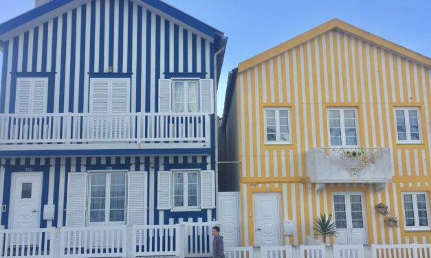 Casas de colores de Aveiro