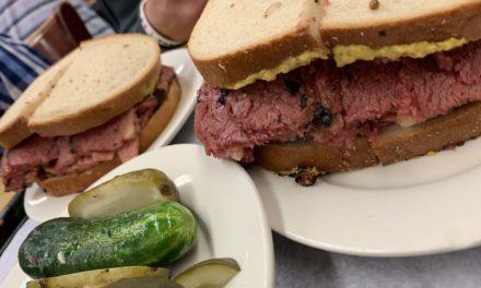 3 mejores sandwiches de pastrami Nueva York