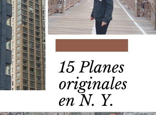 15 Planes originales en N.Y.