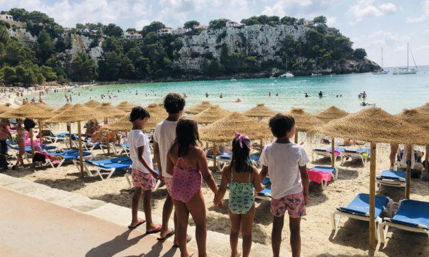Menorca con niños
