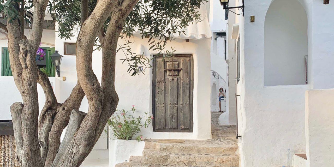 Binibeca Vell, el pueblo blanco de Menorca