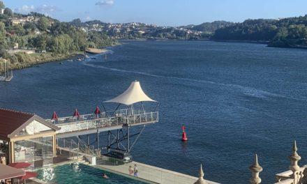 Palacio do Freixo, un hotel en Oporto a orillas del Duero